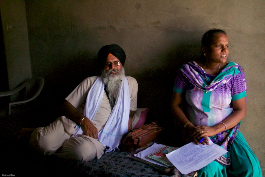 Banth Bhaji and Sandhya